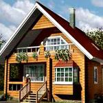 Проекты и планировка домов 6х6 с мансардой