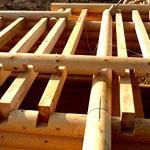 Монтаж перекрытий в деревянном доме