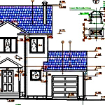 Проектирование дома по чертежам и планам в разрезе