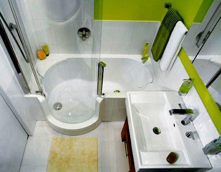 ванная комната 3 кв м
