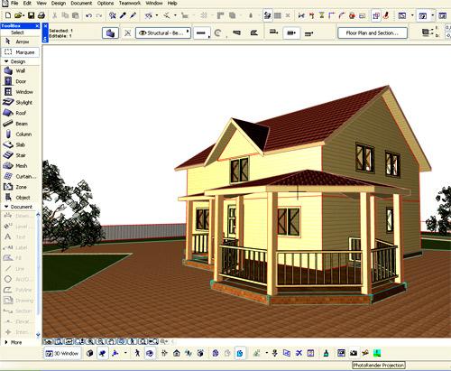 проектирование ArchiCAD
