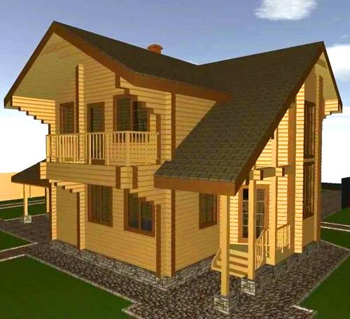 трехмерная модель дома