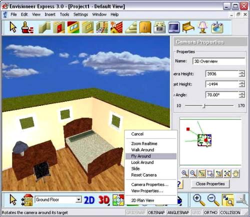 Интерфейс программы Envisioneer Express