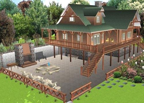 ландшафт Sierra Land Designer 3D