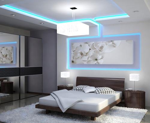 спальня хайтек