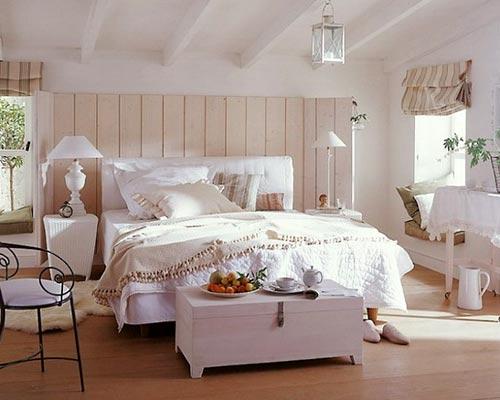 спальня стиль кантри
