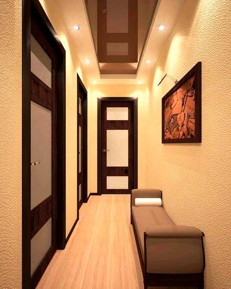 коридор квартира