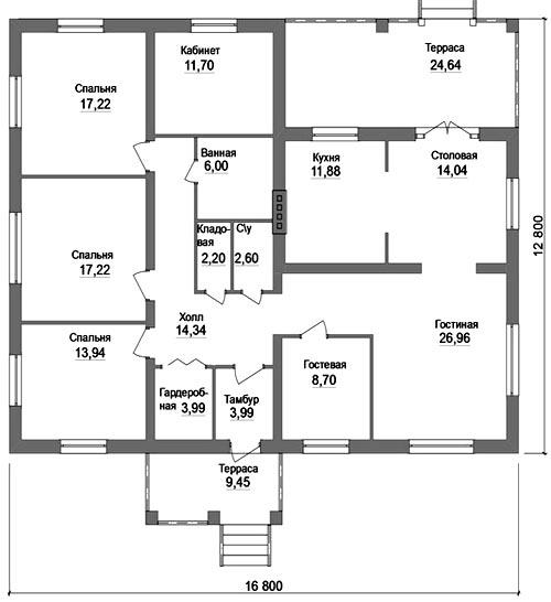 дом 4 спальни