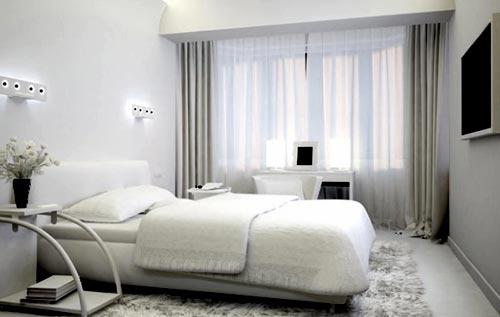 современный стиль спальня