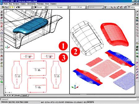проектирование мягкой мебели