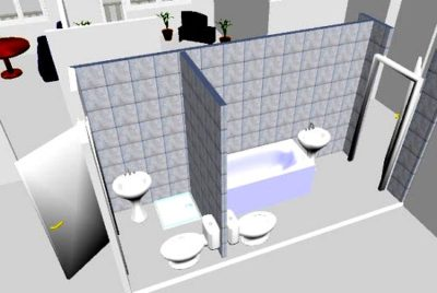 3d проект квартира