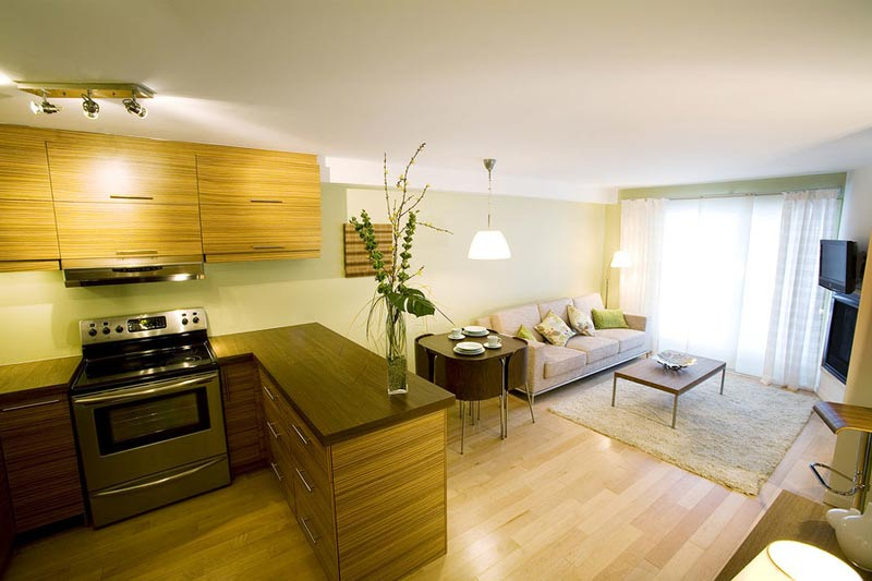 бежевый дизайн комнаты