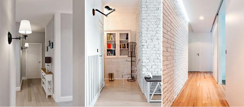светлые стены в доме