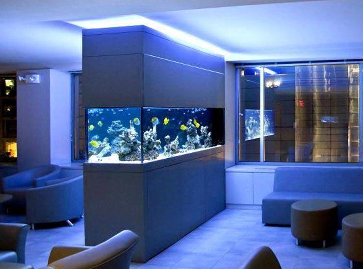 аквариум в гостиной