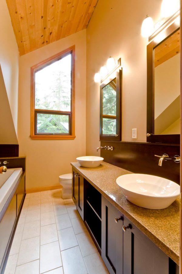 узкая ванная