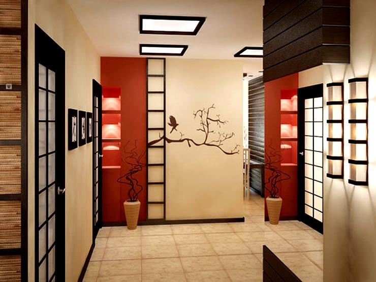 японский коридор