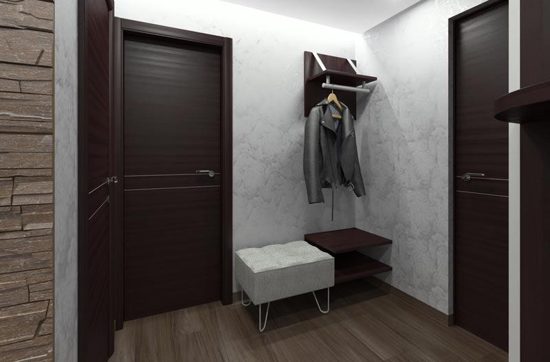 стильный дизайн коридора