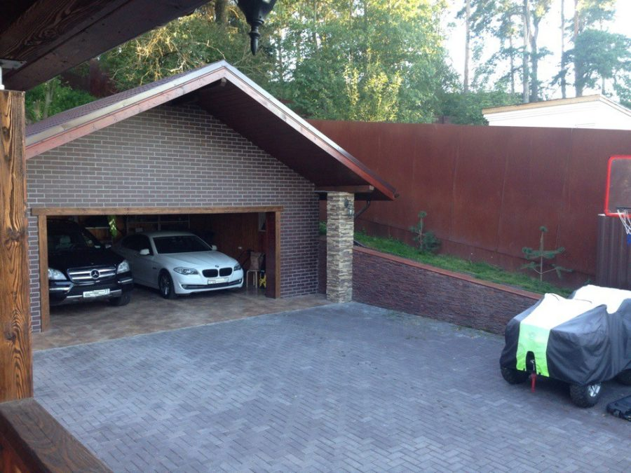 расстояние от гаража до забора