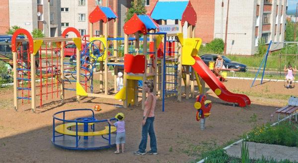 площадка для маленьких детей