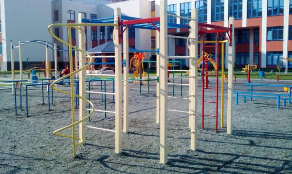 зонирование спортивной площадки
