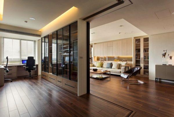 гостиная и кабинет