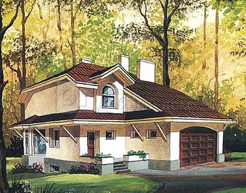 эскиз дома