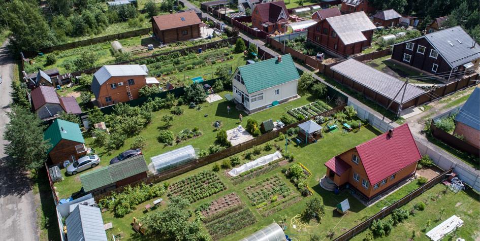 Строительство жилых домов на дачных участках