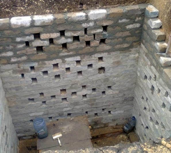 Возведение стенки на всю высоту