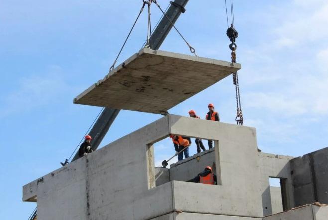 Перекрытия панельного дома